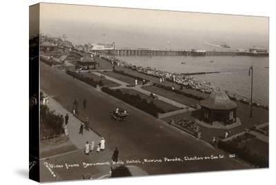 'View from Beaumont Hall Hotel, Marine Parade, Clacton-on-Sea', c1925-Unknown-Stretched Canvas Print