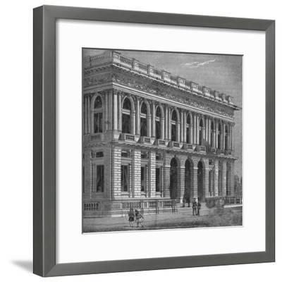Front of the Army and Navy Club, Westminster, London, c1870 (1878)-Unknown-Framed Giclee Print