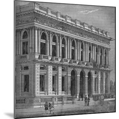 Front of the Army and Navy Club, Westminster, London, c1870 (1878)-Unknown-Mounted Giclee Print