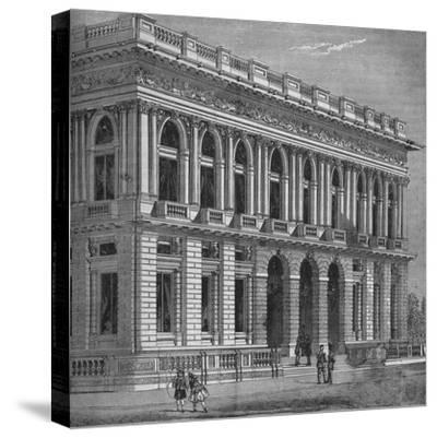 Front of the Army and Navy Club, Westminster, London, c1870 (1878)-Unknown-Stretched Canvas Print