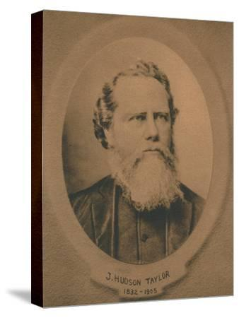 James Hudson Taylor (1832-1905), British Protestant Christian missionary to China, c1910s-Unknown-Stretched Canvas Print