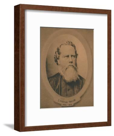 James Hudson Taylor (1832-1905), British Protestant Christian missionary to China, c1910s-Unknown-Framed Giclee Print