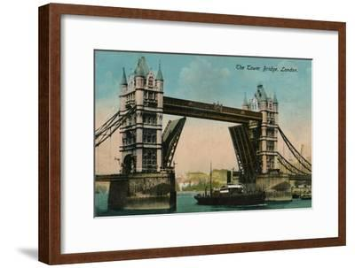 'The Tower Bridge', 1915, (c1900-1930)-Unknown-Framed Giclee Print