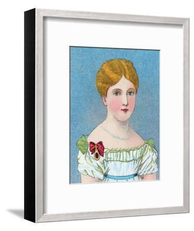 'Young Queen Victoria, then Princess Alexandrina Victoria of Kent', c1829 (c1902)-Unknown-Framed Giclee Print