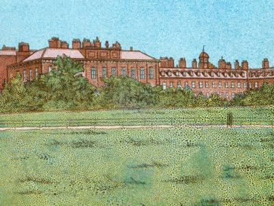 'Kensington Palace', c1902-Unknown-Framed Giclee Print