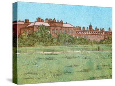 'Kensington Palace', c1902-Unknown-Stretched Canvas Print