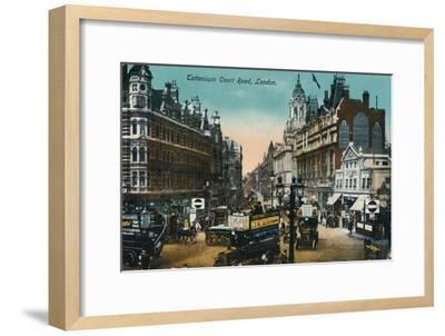 'Tottenham Court Road, London', 1915, (c1900-1930)-Unknown-Framed Giclee Print