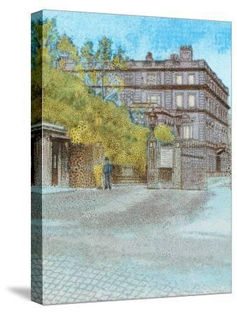 'Clarence House', c1902-Unknown-Stretched Canvas Print