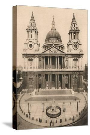 'London, St. Paul's Cathedral', 1924, (c1900-1930)-Unknown-Stretched Canvas Print