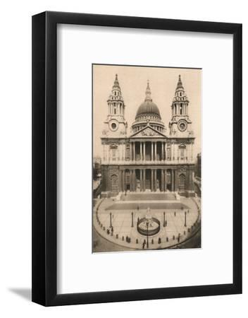 'London, St. Paul's Cathedral', 1924, (c1900-1930)-Unknown-Framed Photographic Print