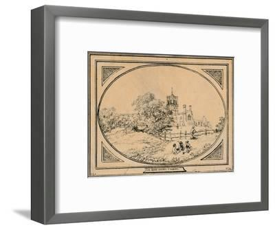'Abbey Church, St. Albans', 1782-Unknown-Framed Giclee Print
