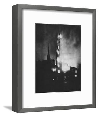 Total Attack. As the attempt to hit special objectives failed and died away-Unknown-Framed Photographic Print