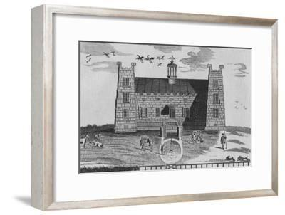 'The West Prospect of Lumley-Castle', c1767-Unknown-Framed Giclee Print