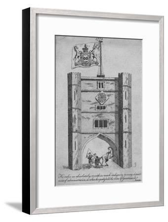 He rules as absolutely & with as much indignity to every department of administration-Unknown-Framed Giclee Print