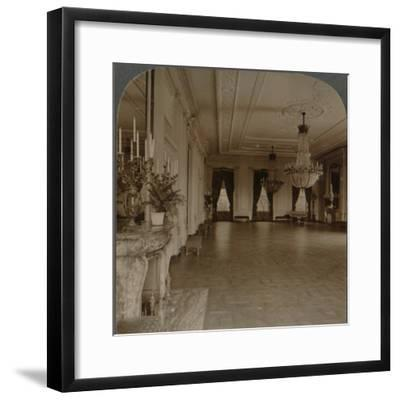 'East room where receptions are held, White House, Washington D.C.', c1900-Unknown-Framed Photographic Print