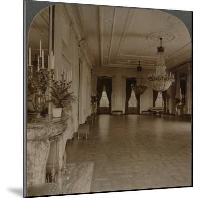 'East room where receptions are held, White House, Washington D.C.', c1900-Unknown-Mounted Photographic Print