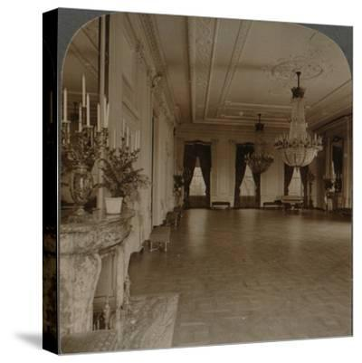'East room where receptions are held, White House, Washington D.C.', c1900-Unknown-Stretched Canvas Print