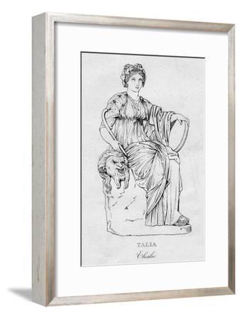 'Talia (Thalie)', c1850-Unknown-Framed Giclee Print