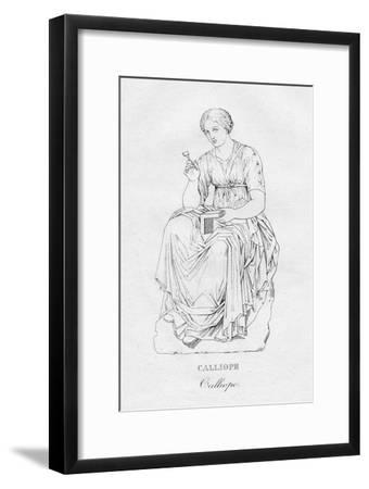 'Calliope', c1850-Unknown-Framed Giclee Print