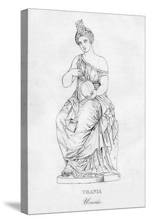 'Urania (Uranie)', c1850-Unknown-Stretched Canvas Print