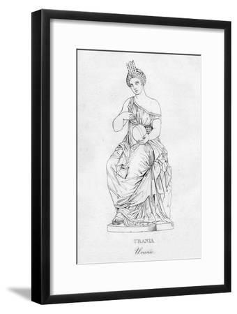 'Urania (Uranie)', c1850-Unknown-Framed Giclee Print