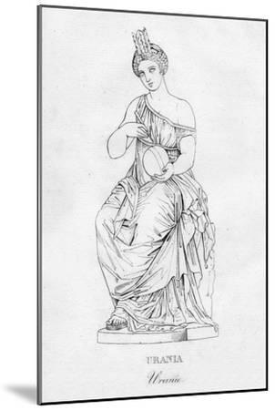 'Urania (Uranie)', c1850-Unknown-Mounted Giclee Print