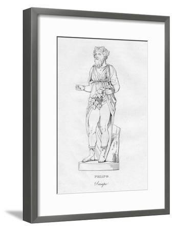 'Priapo (Priape)', c1850-Unknown-Framed Giclee Print
