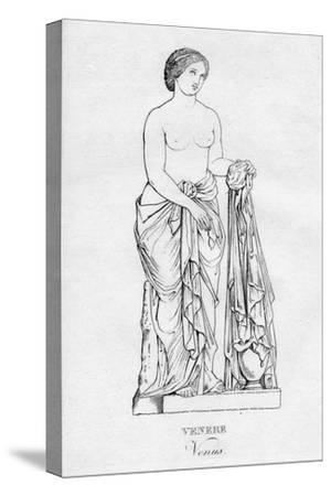 'Venere (Venus)', c1850-Unknown-Stretched Canvas Print