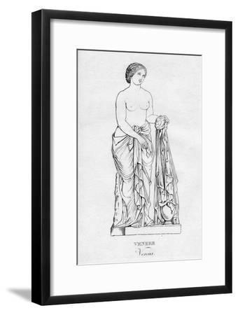 'Venere (Venus)', c1850-Unknown-Framed Giclee Print
