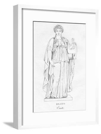 'Erato', c1850-Unknown-Framed Giclee Print