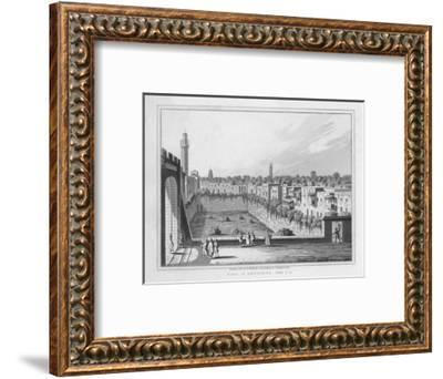 'Pool of Bethesda. John. 5. 2.', 1830-J Clarke-Framed Giclee Print