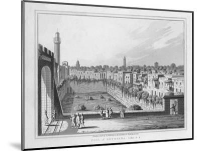 'Pool of Bethesda. John. 5. 2.', 1830-J Clarke-Mounted Giclee Print