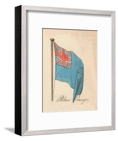 'Blue Ensign', 1838-Unknown-Framed Giclee Print