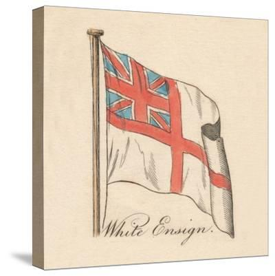 'White Ensign', 1838-Unknown-Stretched Canvas Print