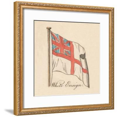 'White Ensign', 1838-Unknown-Framed Giclee Print