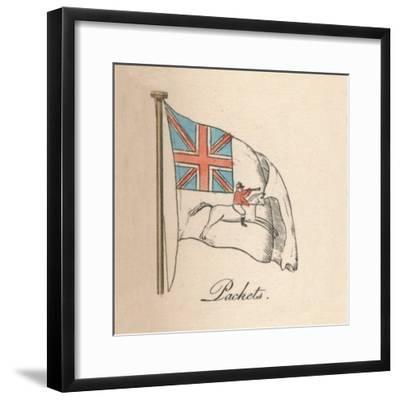 'Packets', 1838-Unknown-Framed Giclee Print