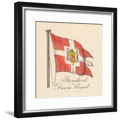 'Standard, Danes Royal', 1838-Unknown-Framed Giclee Print