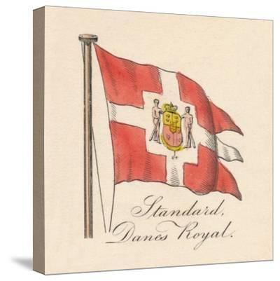 'Standard, Danes Royal', 1838-Unknown-Stretched Canvas Print