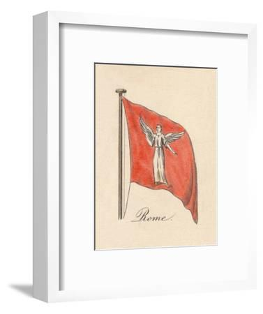 'Rome', 1838-Unknown-Framed Giclee Print