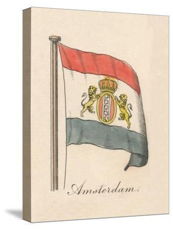 'Amsterdam', 1838-Unknown-Stretched Canvas Print
