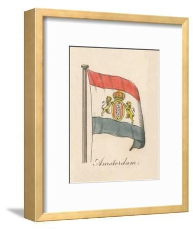 'Amsterdam', 1838-Unknown-Framed Giclee Print