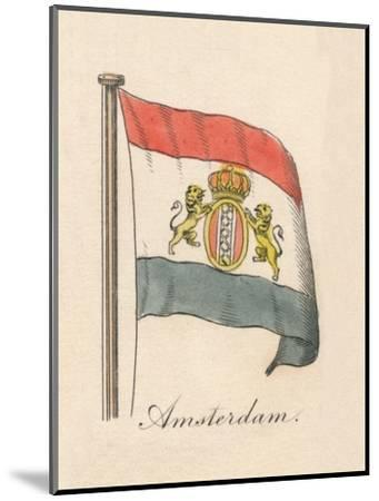 'Amsterdam', 1838-Unknown-Mounted Giclee Print
