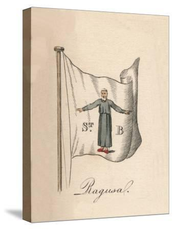 'Ragusa', 1838-Unknown-Stretched Canvas Print