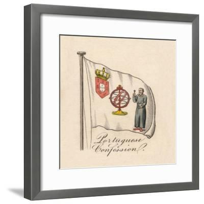 'Portuguese Confession', 1838-Unknown-Framed Giclee Print