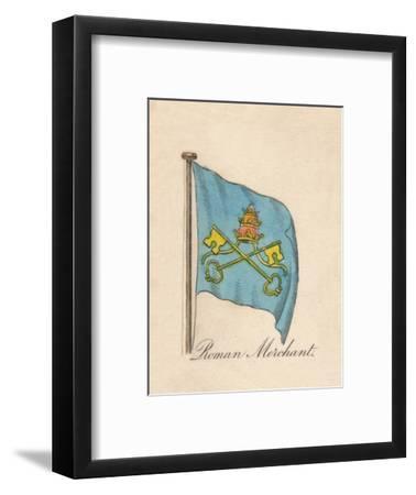'Roman Merchant', 1838-Unknown-Framed Giclee Print