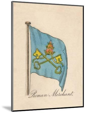 'Roman Merchant', 1838-Unknown-Mounted Giclee Print