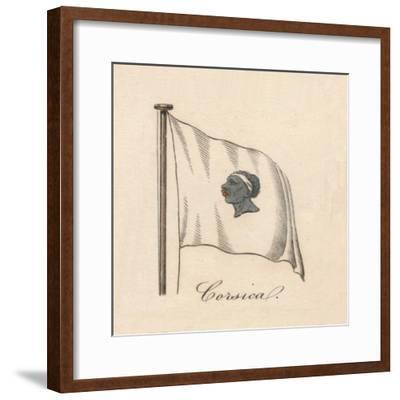 'Corsica', 1838-Unknown-Framed Giclee Print
