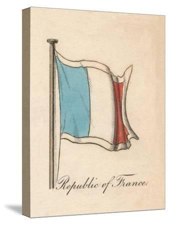 'Republic of France', 1838-Unknown-Stretched Canvas Print