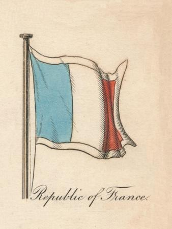 'Republic of France', 1838-Unknown-Framed Giclee Print