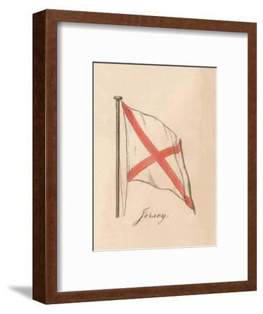 'Jersey', 1838-Unknown-Framed Giclee Print